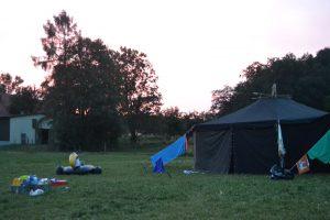 Pfadfinder Wachenheim Sommerlager Wölflingsstufe Jurte